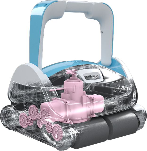 Robotický vysavač BWT P600_vnitřek_2